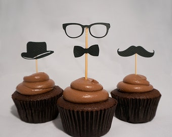 Cupcake Toppers | Little Gent