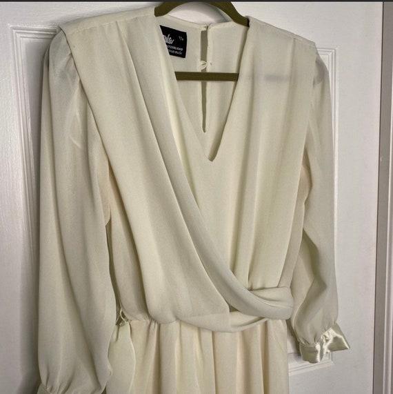 Cream Ursula of Switzerland dress