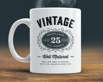 18th Novelty Birthday Gift Tea Mug 2002 Matured To Perfection Limited Coffee Cup