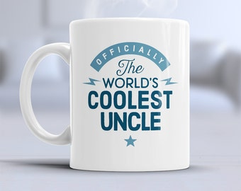 Uncle Gift Cool Mug Birthday For Present Awesome