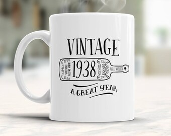 80th Birthday, 1938 Birthday, 80th Birthday Gift, 80th Birthday Idea, Vintage, 1938, Happy Birthday, 80th Birthday Present for 80 year old!