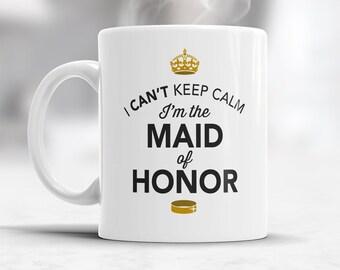 Maid Of Honor Gift, Wedding Mug,  Funny Wedding Gift, Maid Of Honor Mug, Funny Maid Of Honor, Maid Of Honor Present