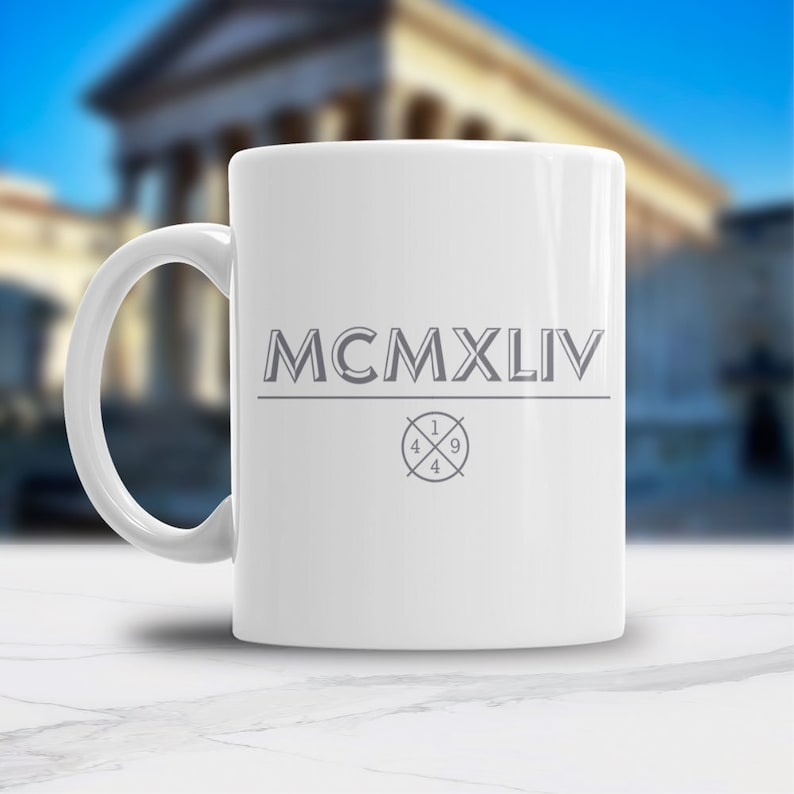 75th Birthday 1944 Coffee Or Tea Mug For Men