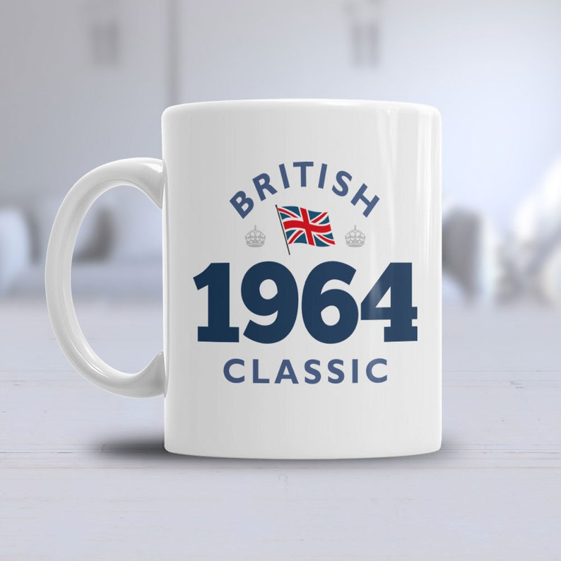 55th Birthday 1964 Coffee Or Tea Mug For Men