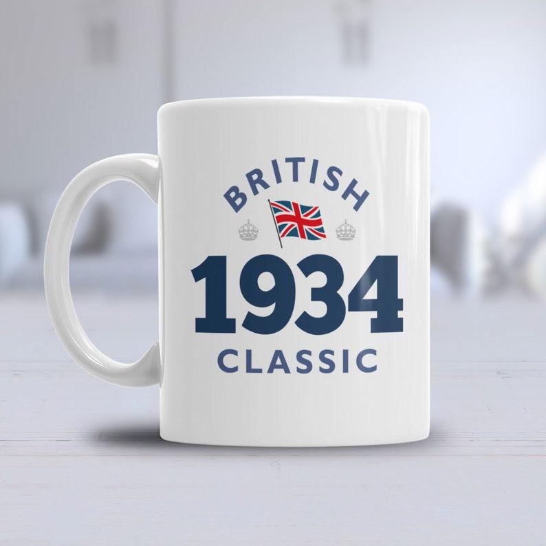 85th Birthday 1934 Coffee Or Tea Mug For Men