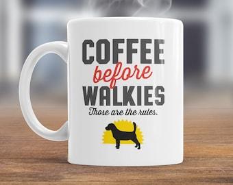 Beagle Mug, Beagle Gift For The Beagle Lover Who Also Loves Coffee, Beagle Coffee Mug, Dog Lover Gift, Beagle Present, Dog Mug