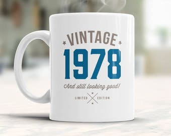 40th Birthday, 1978 Birthday, 40th Birthday Gift, 40th Birthday Idea, Vintage, 1978, Happy Birthday, 40th Birthday Gift for 40 year old