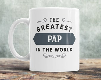 Pap Gift, Greatest Pap, Pap Mug, Birthday Gift For Pap! Pap, Pap Birthday Gift, Present For Pap, Awesome Pap