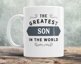 Son Gift, Son Mug, Gift For Son, Birthday Gift For Son! Son Birthday Gift, Father Son Gift, Mother Son Gift, World's Coolest Son!