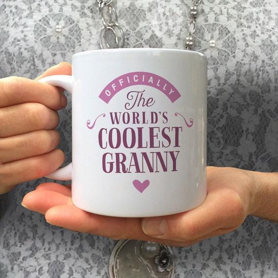 Cool Granny Gift Mug Birthday For