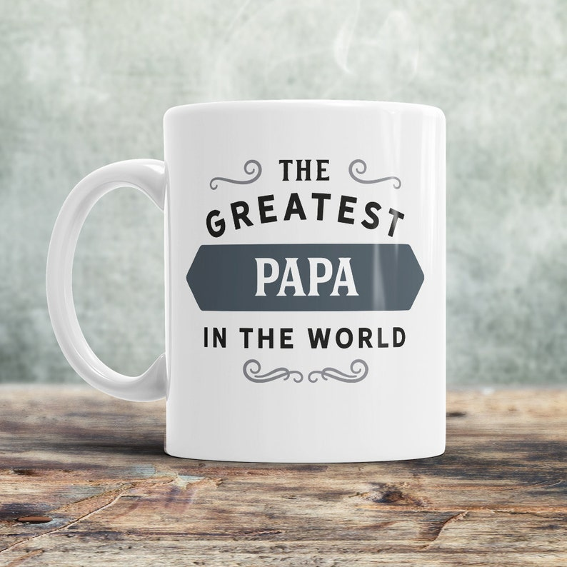 Papa Mug Birthday Gift For Greatest