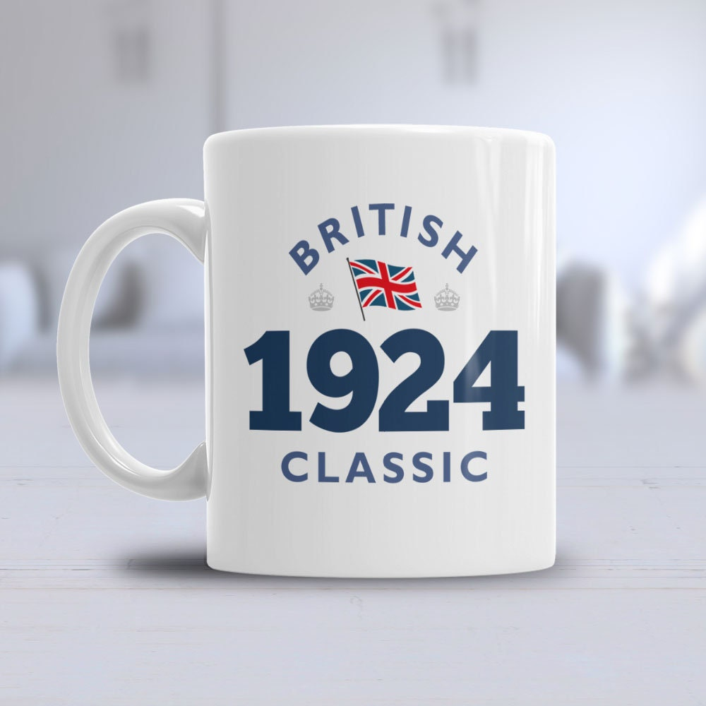 95th Birthday 1924 Coffee Or Tea Mug For Men