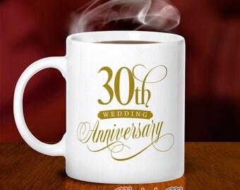30th Wedding Anniversary, Pearl Wedding, 30th Wedding Gift, 30th Anniversary, Wedding Anniversary, 30 Year Anniversary, 30th Wedding Idea