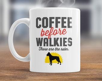 Boxer Dog Mug, Boxer Dog Gift For The Boxer Dog Lover Who Also Loves Coffee, Boxer Dog Coffee Mug, Dog Lover Gift, Boxer Dog Present