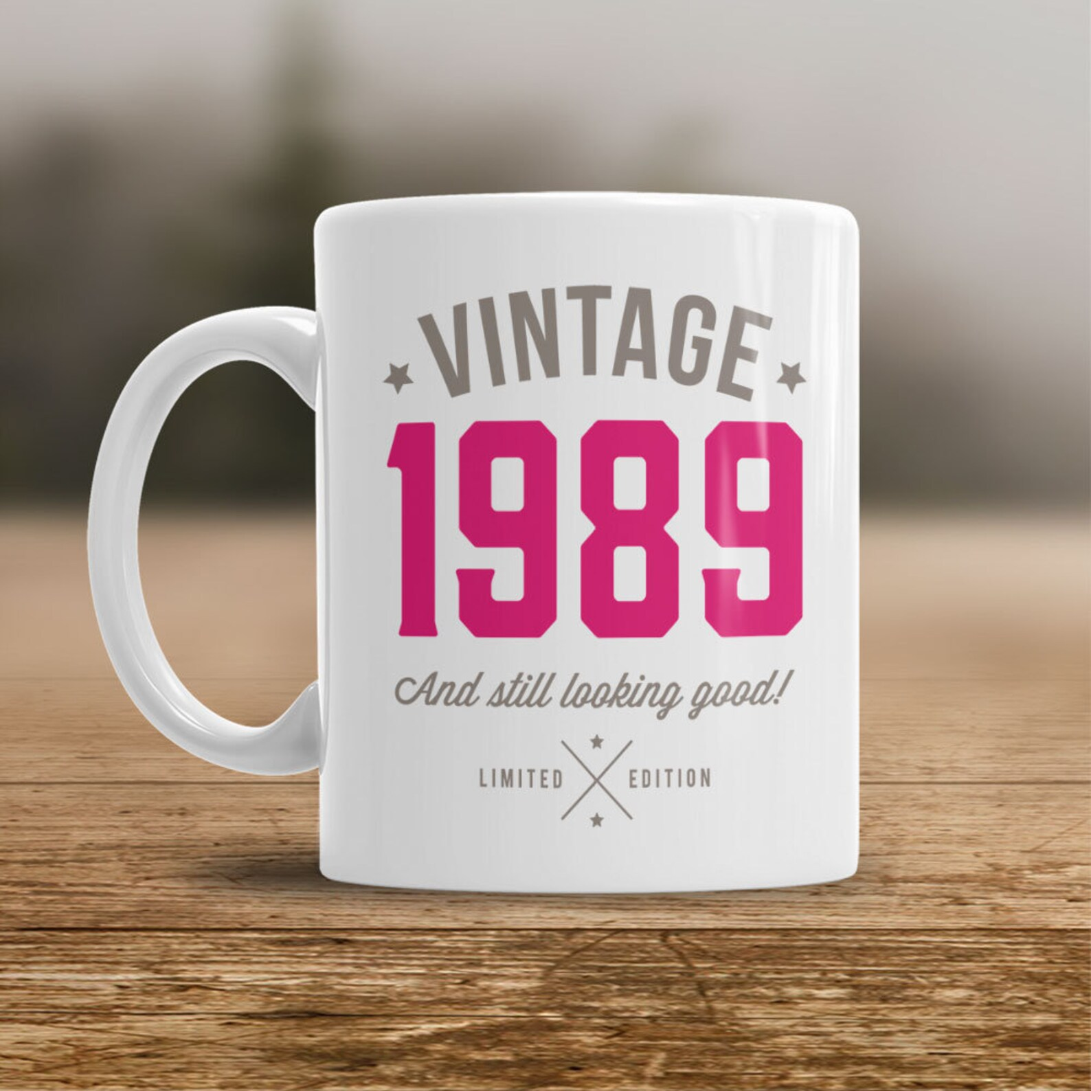 1989 birthday mug