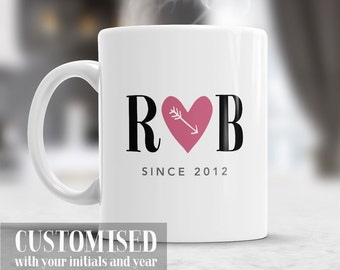 Love Mug, Girlfriend Mug, Love You Mug, Love Sayings, I Love You More, Heart Mug, Gifts For Girlfriend, Gifts For Her, Gift For Her Birthday