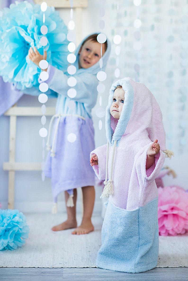 1131922dccea0 Aladdin bathrobe infant bathrobe with hood bébé peignoir | Etsy