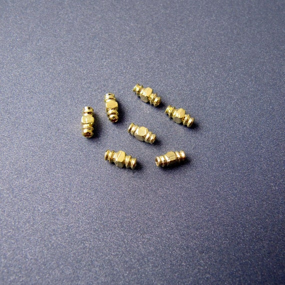 18K Gold Plated 2mm Smooth Round Beads,Gold Spacer Vermeil Sold Per 50 Pieces