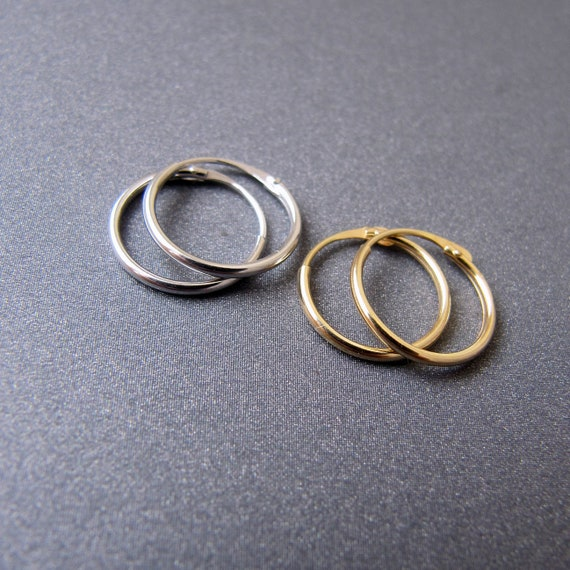 4mm Diameter Heavy Open Jump Ring Jewellery Making 18ct Yellow Gold