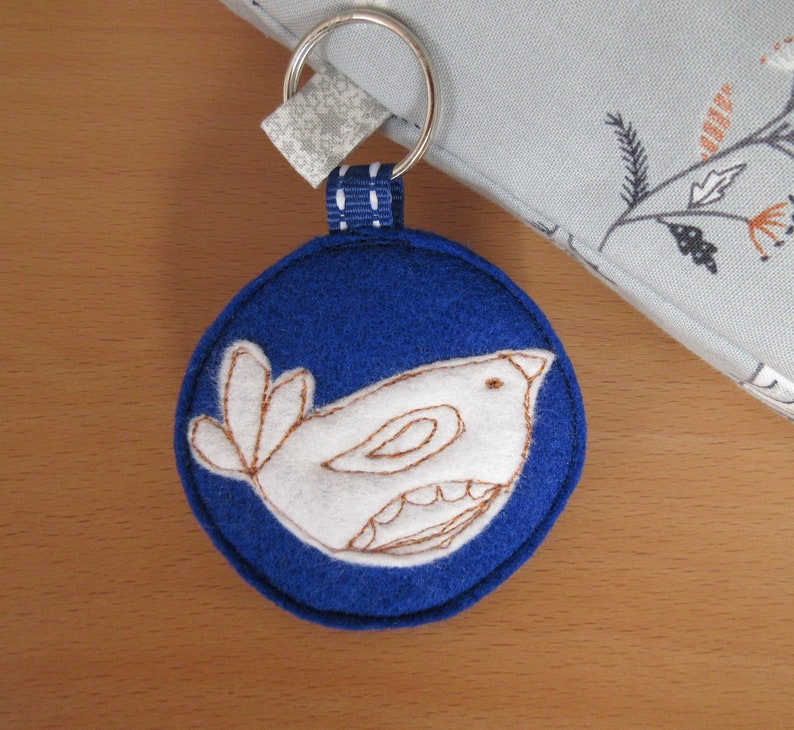 Medium Turtle Dove Sock SackProject Bag