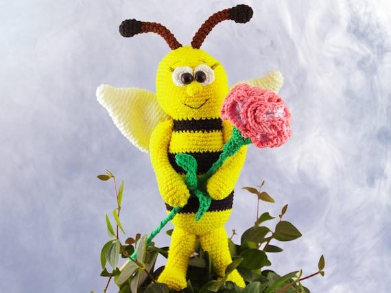 Sabine die Biene Häkelanleitung | Etsy