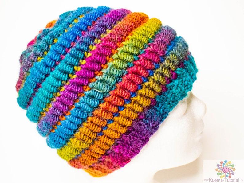 Bugati Cordi Hat  crochet pattern image 0