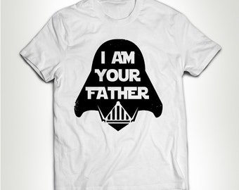 d4f9c348 Funny I Am Your Father shirt Luke Dark Best Papa Ever Papa T-shirt T-shirt  Tee Shirt Best No1 Father Gift For Dad Husband Father's Day MB338