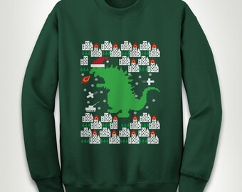 Ugly Christmas Sweater - X-mas Merry Christmas Party Jesus Birth OCD Obsessive Slogan Tumblr Funny Santa Ya Filthy Animal Gift Hoodie MB665
