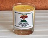 Ginger, Cedarwood and Orange Vegan candle. Dia de los Muertos Dead of the Day Vegan candle. Perfect gift idea for super Mum - Mother 39 s day