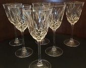 Waterford Crystal Claret Wine Glass - Colleen Essence Pattern