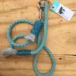 Solid Color Handcrafted Rope Dog Leash