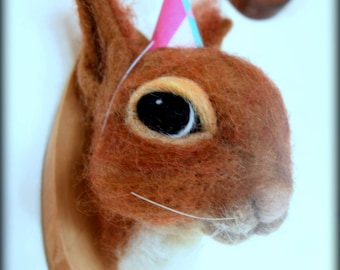 Needle felted Red Squirrel
