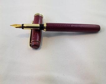 fountain pen closed end