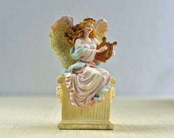 "New Lenox /""You Make My Heart Dance/"" Musical Angel Figurine"