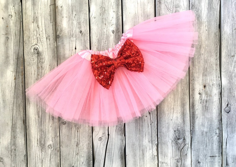 Valentines tutu pink and red tutu valentines outfit first image 1