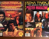 Star Trek III The Search for Spock Official Movie Magazine Poster Magazine - 1984 sci-fi collectibles
