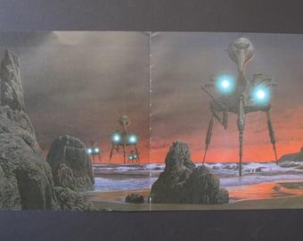 Greenslade Cactus Choir Album Cover Art Print 1970/'s Jade Sea Lair Book Plate fantasy artwork by Roger Dean for framing 11 34 X 12