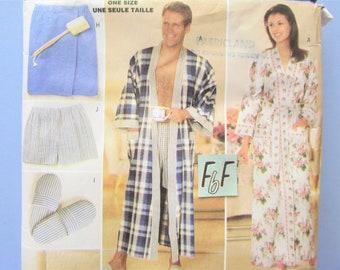 c21e21b854 Men s Women s Wrap Robe