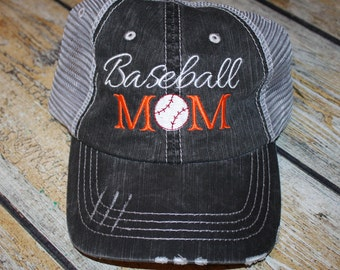146a5763a8c27 Baseball Mom Trucker Hats
