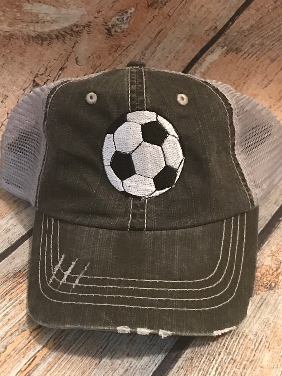 Soccer Game Day Soccer Mom Trucker Hat