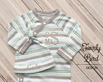 Coming Home Outfit for Newborn Baby Boy