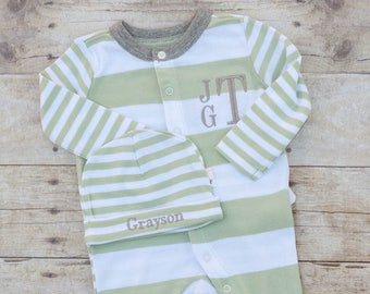 Baby Boy Outfit -, Newborn Baby Boy Outfit - Going Home Outfit Boy - Newborn Boy Outfit - Newborn Baby Boy - Coming Home Outfit Boy