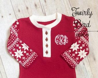 Vestito di Natale ragazza bambino - neonato ragazza Natale vestito - vestito invernale bambino - Baby Girl Abbigliamento bambini d'inverno - neonata-