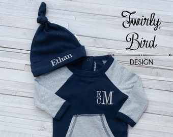 Newborn Baby Boy Outfit, Coming Home Outfit Boy