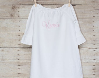 Toddler Dress - Toddler Girl Gown - Personalized Toddler Dress - Monogrammed Dress - Girl Dress - Toddler Dress - Toddler Gown
