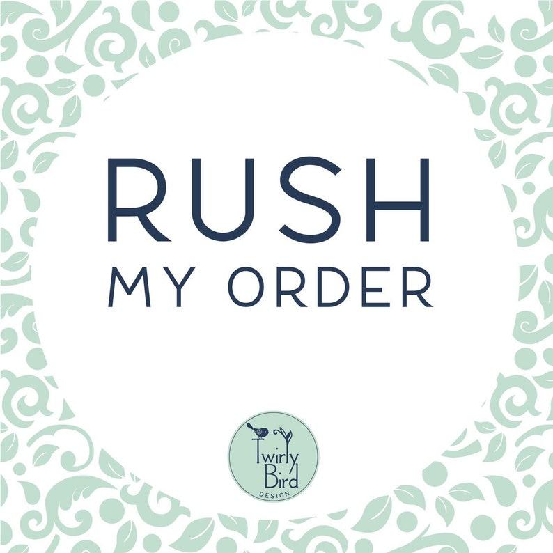 Rush order image 0