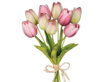 "Purple Tulip Stem 15"""