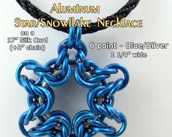 Snowflake / Star Necklace