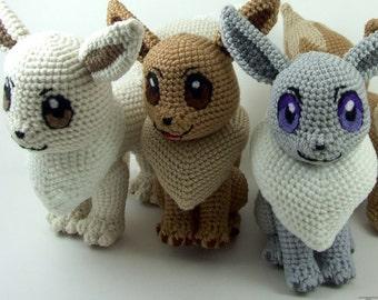 Pokemon Eevee Crochet Plushes