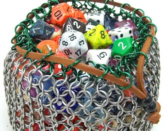 Chainmaille European 4-in-1 Dice Bag